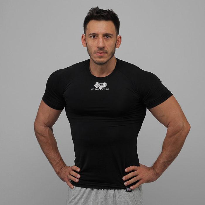 Компресс. футболка SF Black (S, M, L, XL, XXL)