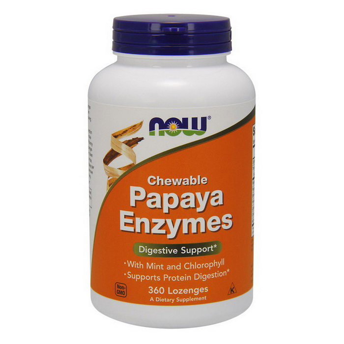 Chewable Papaya Enzyme (360 lozenges)