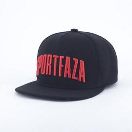 Кепка Снэпбек SportFaza Black-Red (M, L, XL)