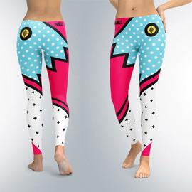 Leggings Groovy Toon Flash (XS, S, M, L, XL)