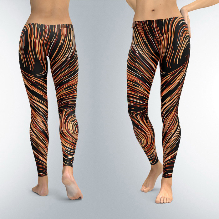Leggings Lightspeed Coffe (XS, S, M, L, XL)