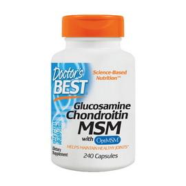 Glucosamine Chondroitin MSM (240 caps)