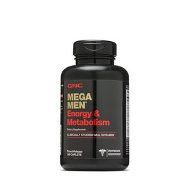 Mega Men Energy & Metabolism (180 caplets)