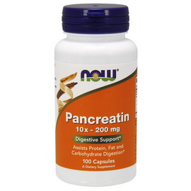 Pancreatin 10X - 200 mg (100 caps)