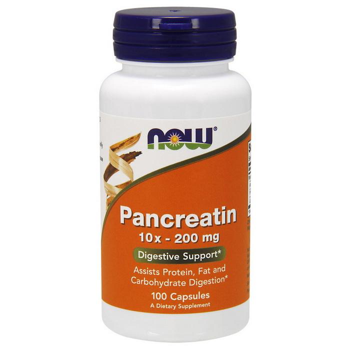 Pancreatin 10X - 200 mg (100 caps)