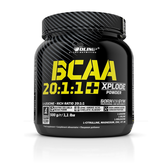 BCAA 20:1:1 + Xplode Powder  (500 g)