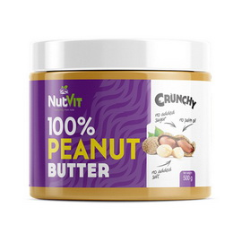 100% Peanut Butter Crunchy (500 g)