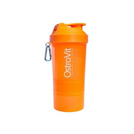 OstroVit Shaker 3 in 1 Orange (400 ml)