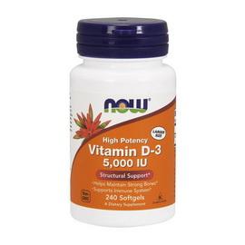Vitamin D-3 5000 IU (240 softgels)
