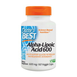 Alpha Lipoic Acid 600 (60 veg caps)