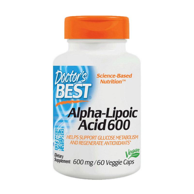 Alpha Lipoic Acid 600 (60 veg caps)