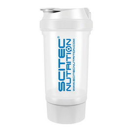 Scitec Traveller Shaker White (500 ml)