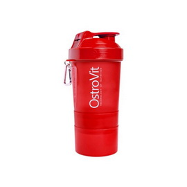 OstroVit Shaker 3 in 1 Red (400 ml)