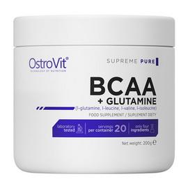 100% BCAA + Glutamine Pure (200 g)
