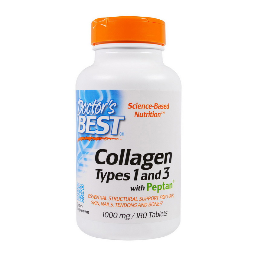 Collagen Types 1&3 with Peptan 1000 mg (180 tabs)