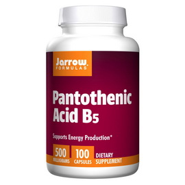 Pantothenic Acid B5 500 mg (100 caps)