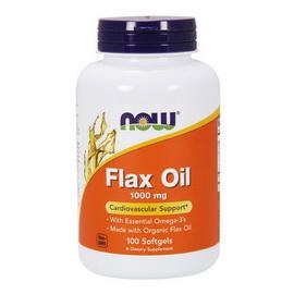 Flax Oil 1000 mg (100 softgels)