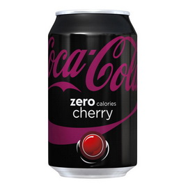 Coca-Cola Zero Calories Cherry (1 x 330 ml)