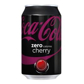 Coca-Cola Zero Calories Cherry (1 x 330 ml)
