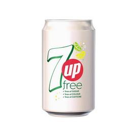 7up Free Calories Caffeine Colour (1 x 330 ml)