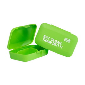 Pillbox - Eat Clean.Train Dirty! Green