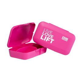 Pillbox - Live Love Lift Pink