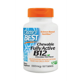 Chewable Fully Active B12 (60 tabs)