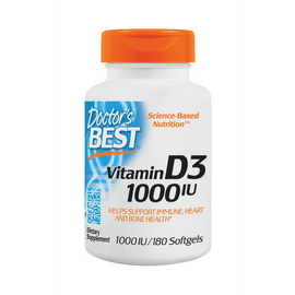 Vitamin D3 1000 IU (180 softgels)