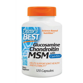 Glucosamine Chondroitin with MSM (120 caps)