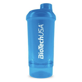Shaker Wave+ Compact 2 in 1 - Schocking Blue (500 ml)