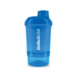 Shaker Wave+ Nano 2 in 1 - Schocking Blue (300 ml)