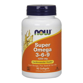 Super Omega 3-6-9 1200 mg (90 softgels)