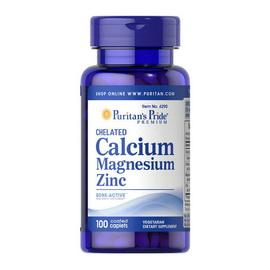 Chelated Calcium Magnesium Zinc (100 caplets)