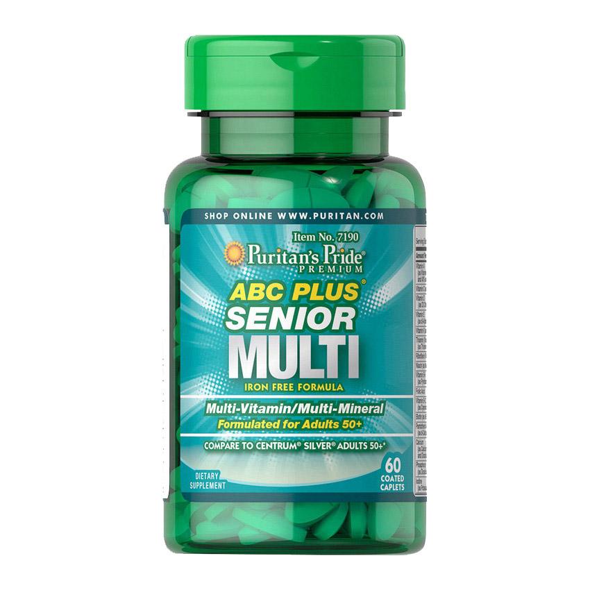 ABC Plus Senior Multi (60 caplets)