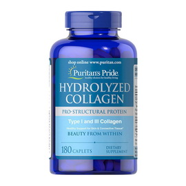 Hydrolyzed Collagen 1000 mg (180 caplets)