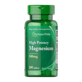 High Potency Magnesium 500 mg (100 tabs)