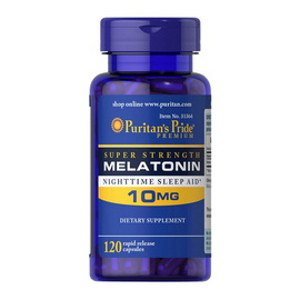 Melatonin 10 mg (120 caps)