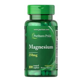 Magnesium 250 mg (100 caplets)