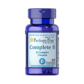 Complete B (Vitamin B Complex) (100 caplets)