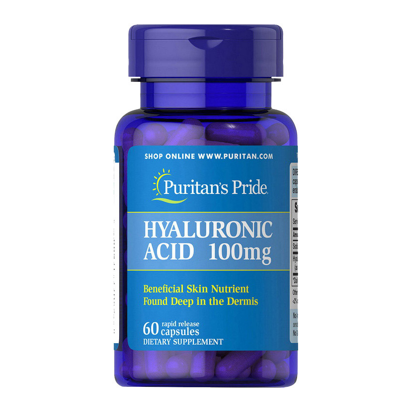 Hyaluronic Acid 100 mg (60 caps)