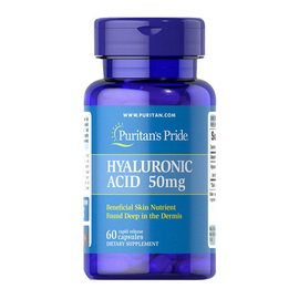 Hyaluronic Acid 50 mg (60 caps)