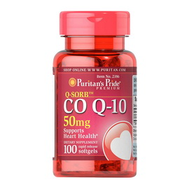Q-SORB Co Q-10 50 mg (100 softgels)