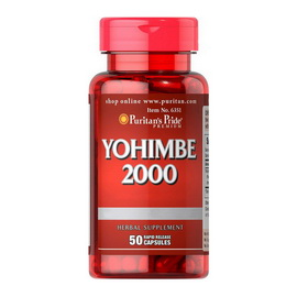 Yohimbe 2000 mg (50 caps)