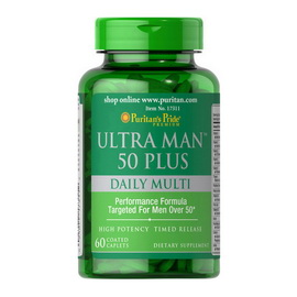 Ultra Man 50 Plus (60 caplets)