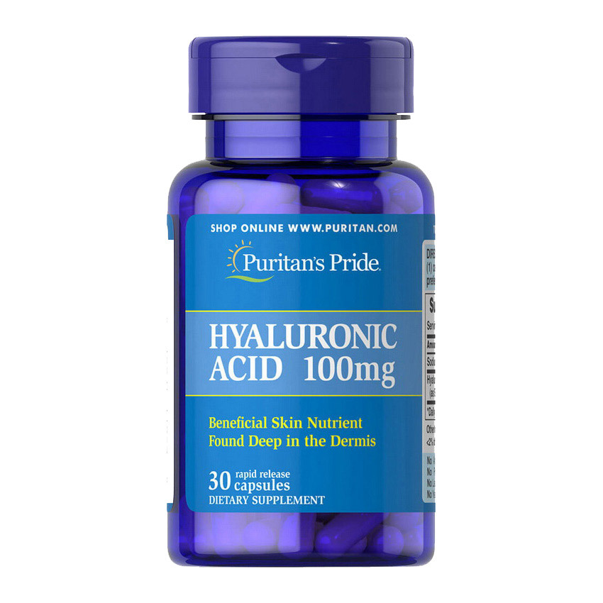 Hyaluronic Acid 100 mg (30 caps)
