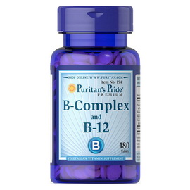 B-Complex and B-12 (180 tabs)