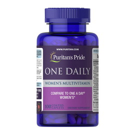 One Daily Women's Multivitamin (100 caplets)