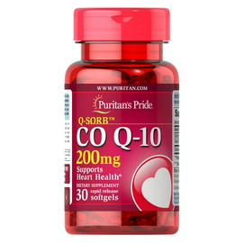Q-SORB Co Q-10 200 mg (30 softgels)