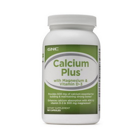Calcium Plus with Magnesium & Vitamin D-3 (180 caps)
