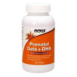 Prenatal Gels + DHA (180 softgels)